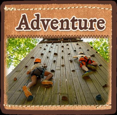 Adventure program at Camp Laurel South in Maine