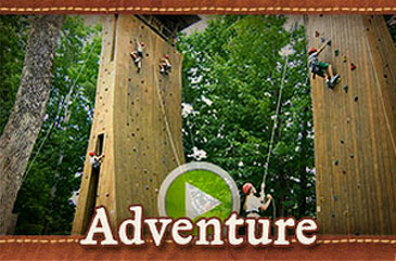 Outdoor adventure summer camp video