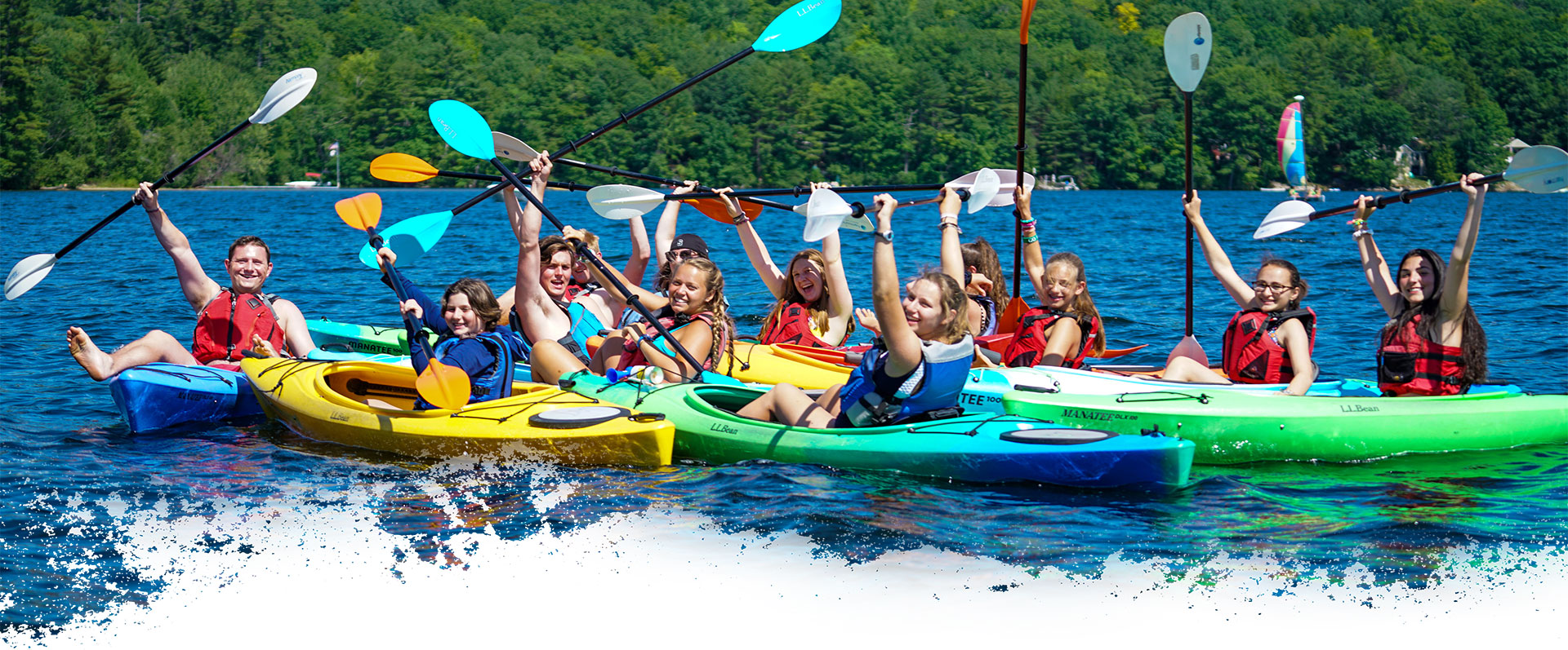 Dates and fees for summer sleep away camp in Maine